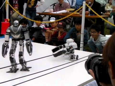 What's Better Than Fighting Robots? Wrestling Robots.