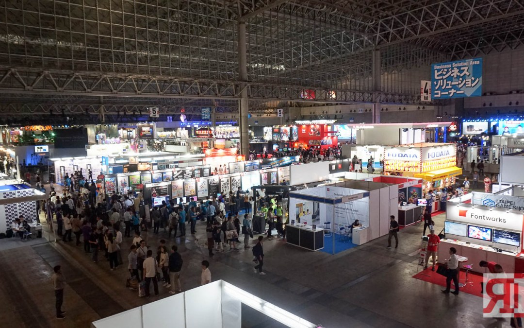 Check out the Epic Booths at Tokyo Game Show 2017