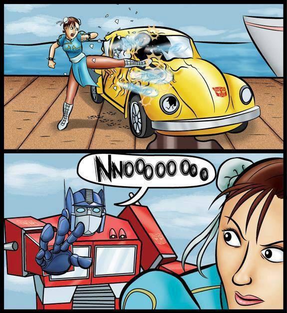 Takara Reveals a Bizarre Transformers x Street Fighter II Set