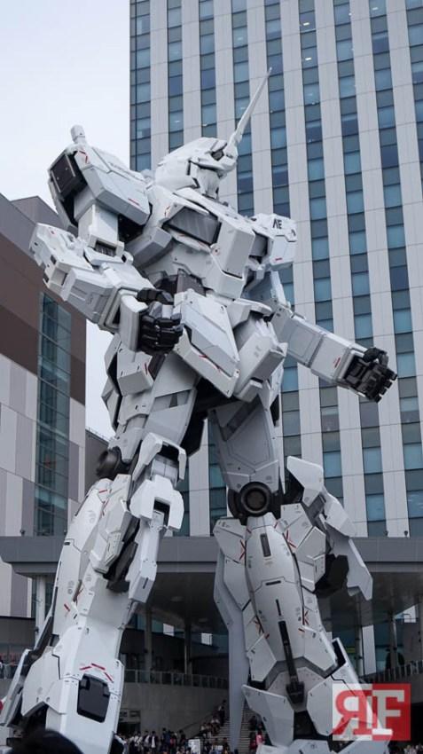 odaiba gundam statue-4