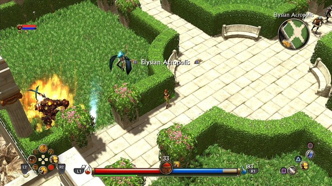titan quest console screenshot 3