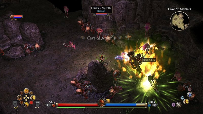 titan quest console screenshot 4