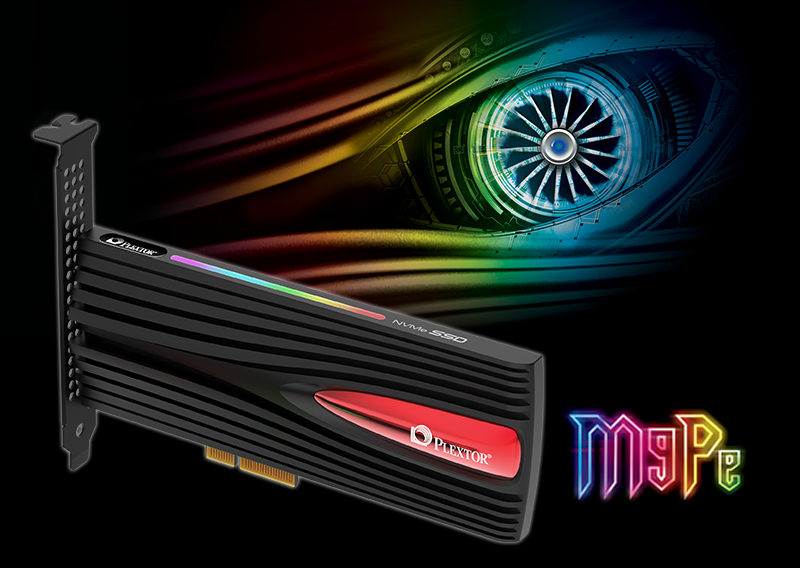 Plextor Debuts Gaming PCIe SSD with M9Pe Series Launch