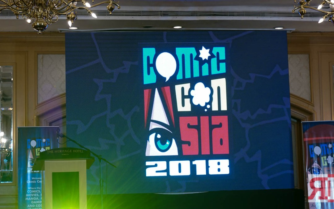 Check Out ComicCon Asia's Initial List of Guests and Activities