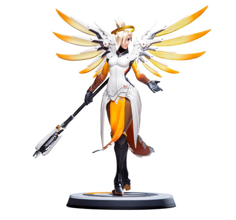 overwatch mercy statue full 1