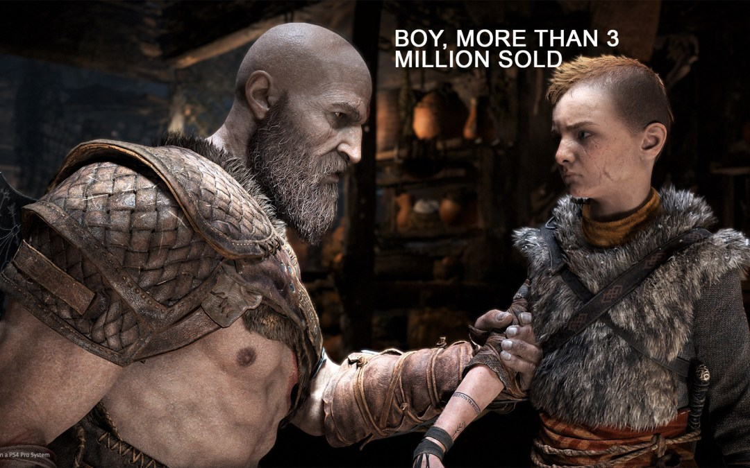 In Just Three Days, God of War Sold More Than 3.1 Million Copies