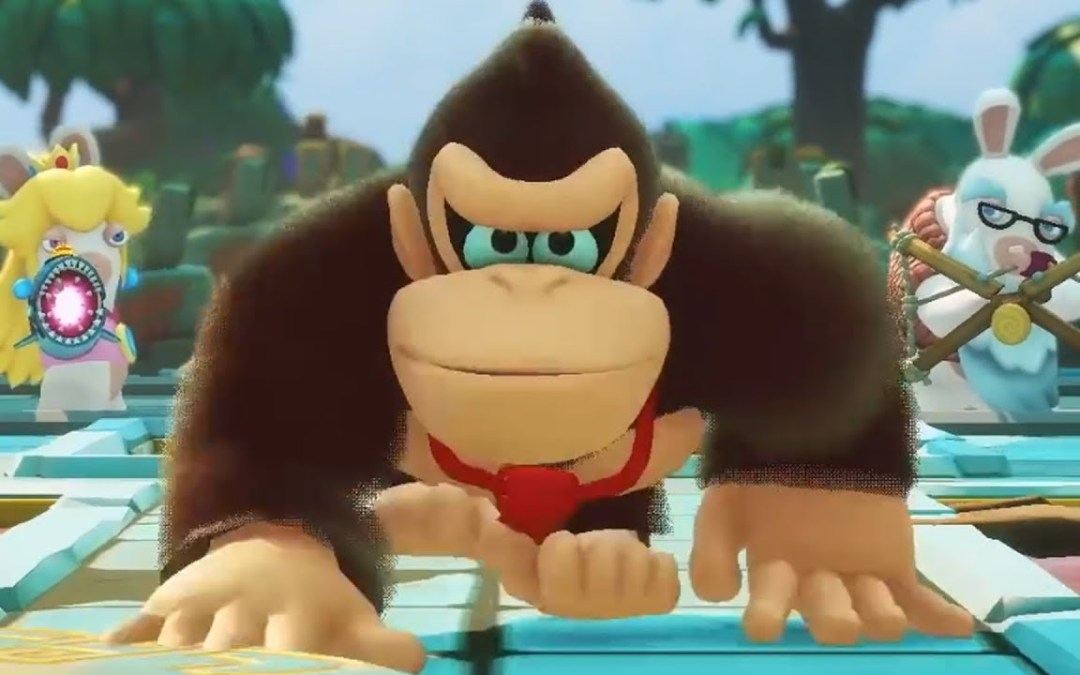 Donkey Kong joins Mario and Rabbids in Kingdom Battle
