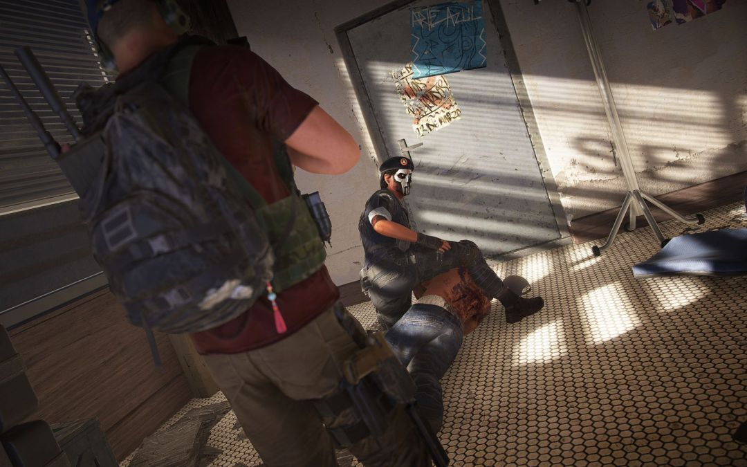 R6S Operators join Ghosts in Ghost Recon: Wildlands in crossover event