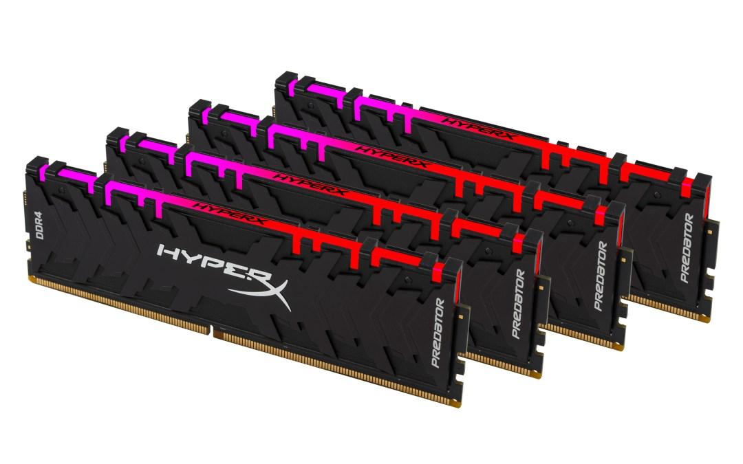 HyperX Expands Predator DDR4 RGB and Predator DDR4 Lineup