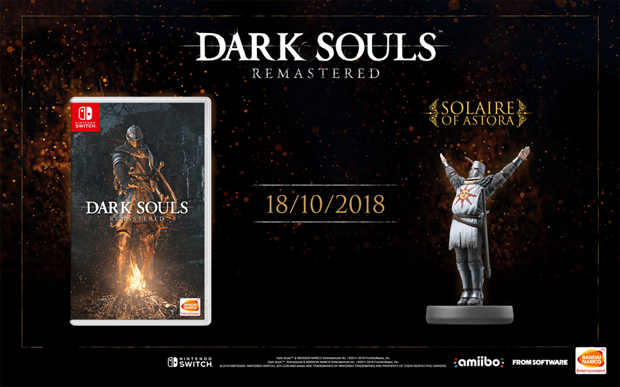 Dark Souls: Remastered for the Switch is Finally Arriving