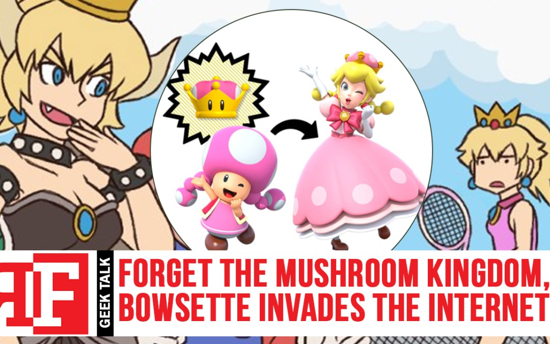 Forget the Mushroom Kingdom, Bowsette Invades the Internet