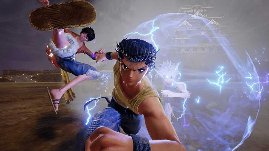 JUMP FORCE Reveals Four More Characters