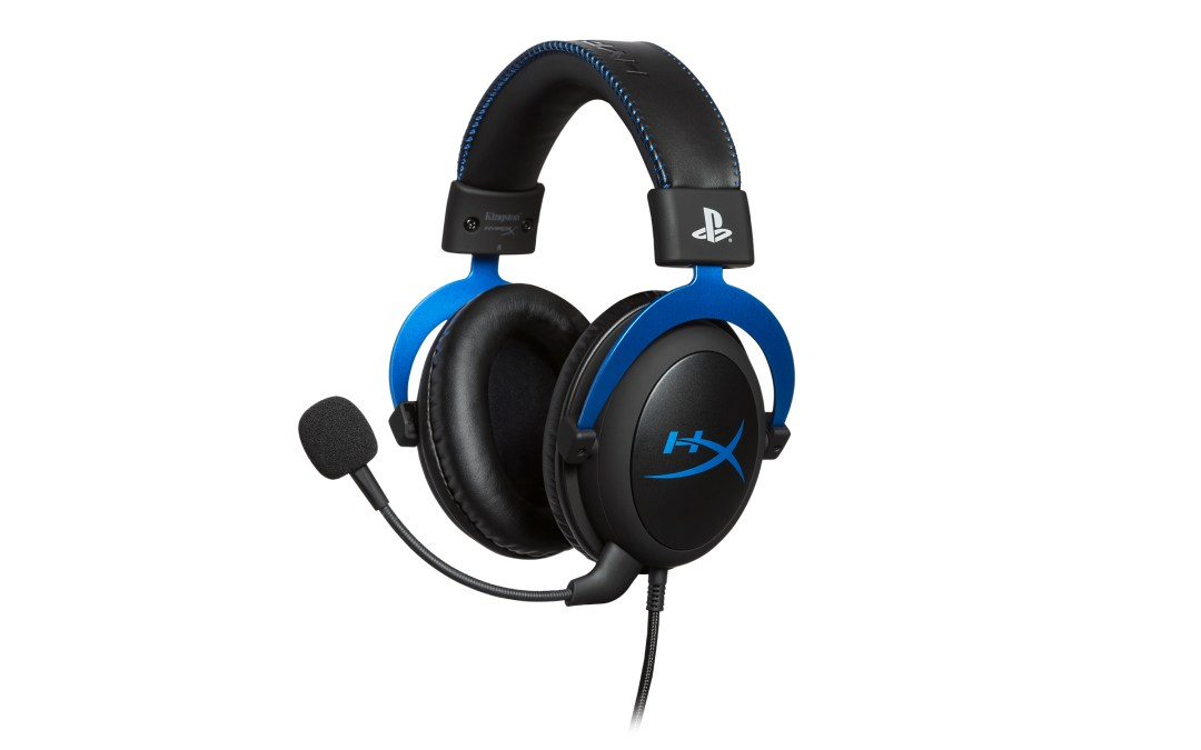 HyperX Reveals Licensed Headset for PlayStation 4 at ESGS