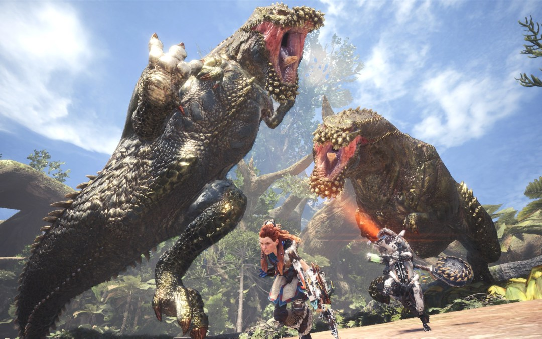 A New Horizon Zero Dawn Event for Monster Hunter World is now Available