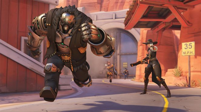 Ashe is not alone, calling her omnic ally Bob to join the fray when the need arises