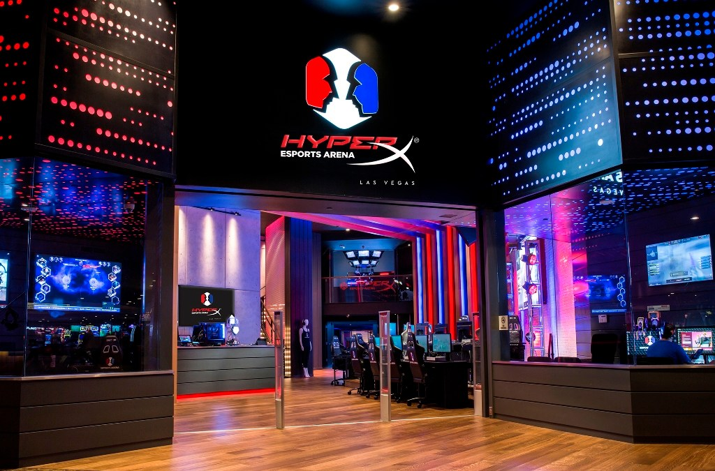 HyperX and Allied Esports Announce HyperX Esports Arena Las Vegas