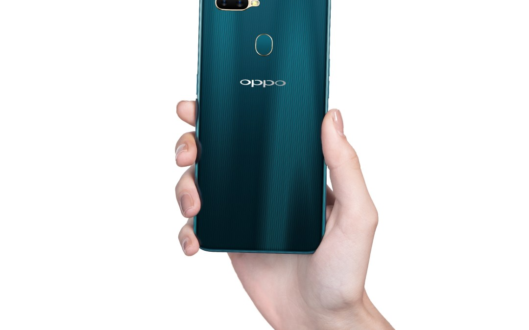 New OPPO A7 features waterdrop screen and premium design