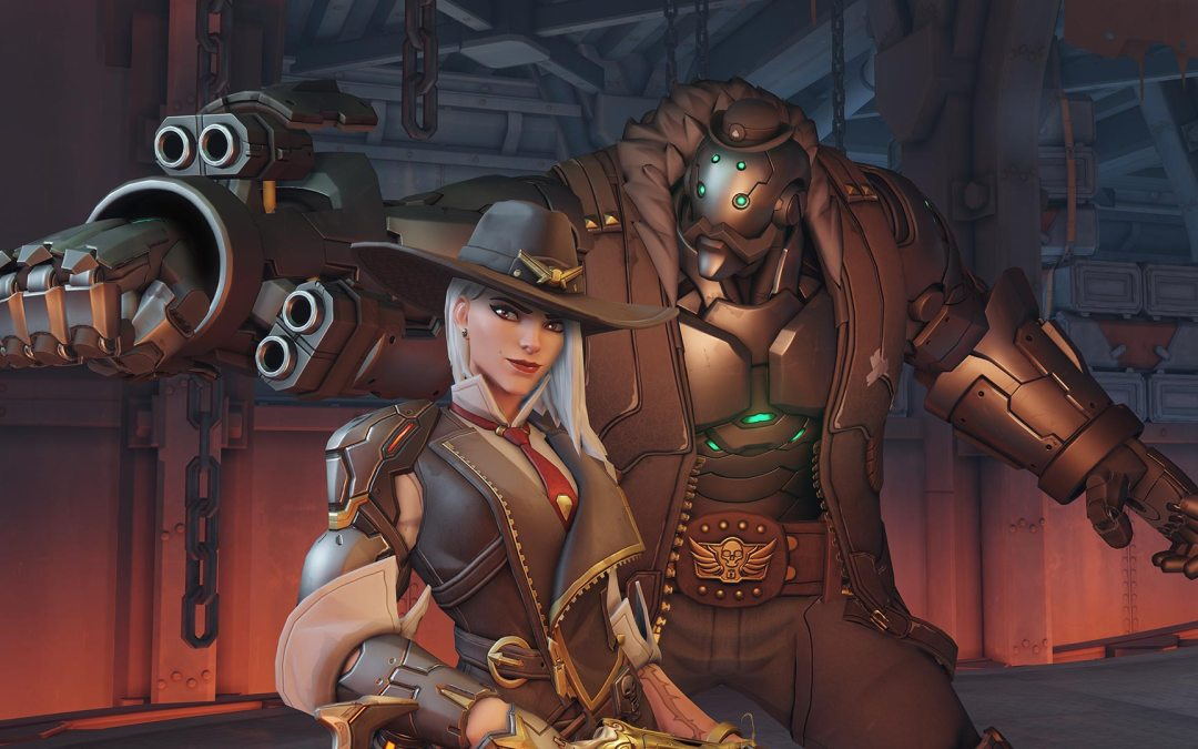 Overwatch's New Hero Ashe Now Live