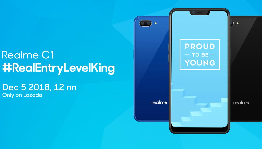 Realme C1 is ready for its first flash sale today