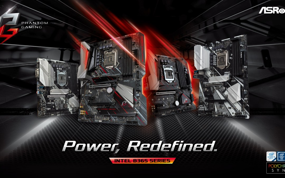 ASRock Announces the B365 Motherboard Series