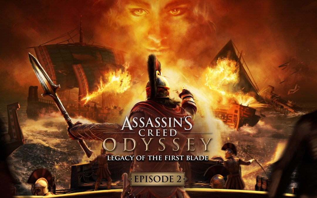 Assassin's Creed Odyssey 2nd Legacy Of The First Blade Dlc Will be Available Next Week