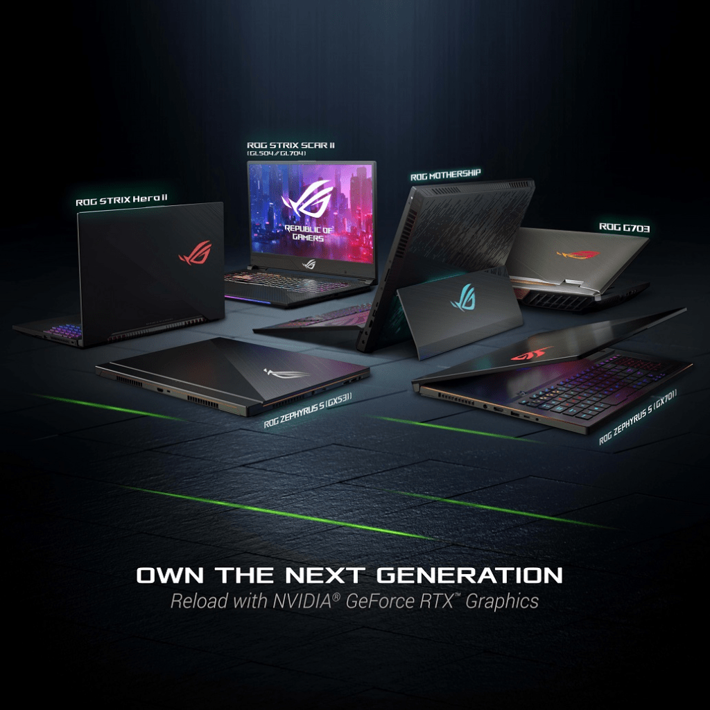 Asus Republic Of Gamers Launches Full Range Nvidia Geforce Rtx Circuit Board From Notebook Computer Desk Clock Geekery Clocks By This Top To Bottom Lineup Is Filled With Updates That Elevate Your Portable Pc Gaming Experience Across A Diverse Family Form Factors The