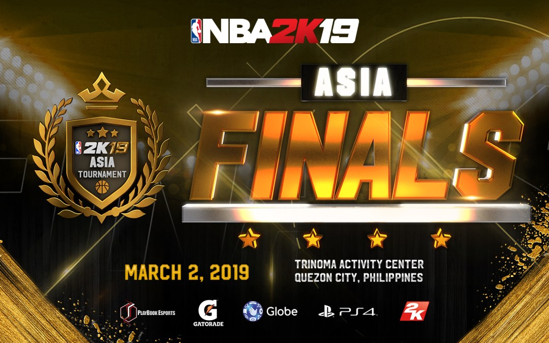 NBA 2K19 Asia Finals Heads to Manila on March 2