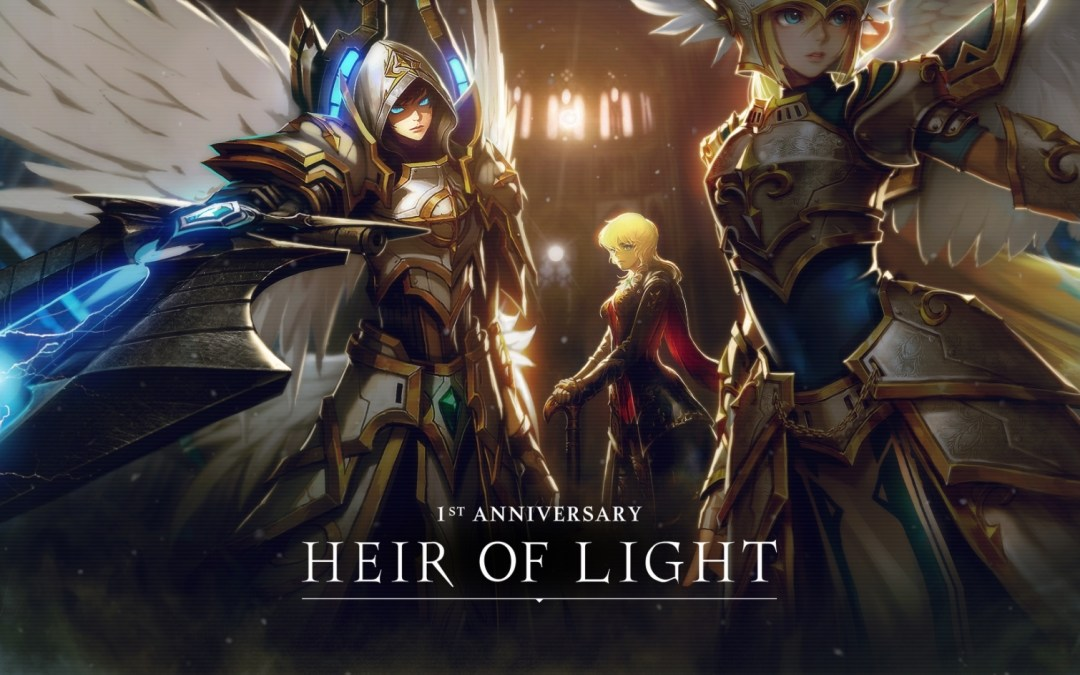 Heir of Light x Summoners War Collaboration is Now Available