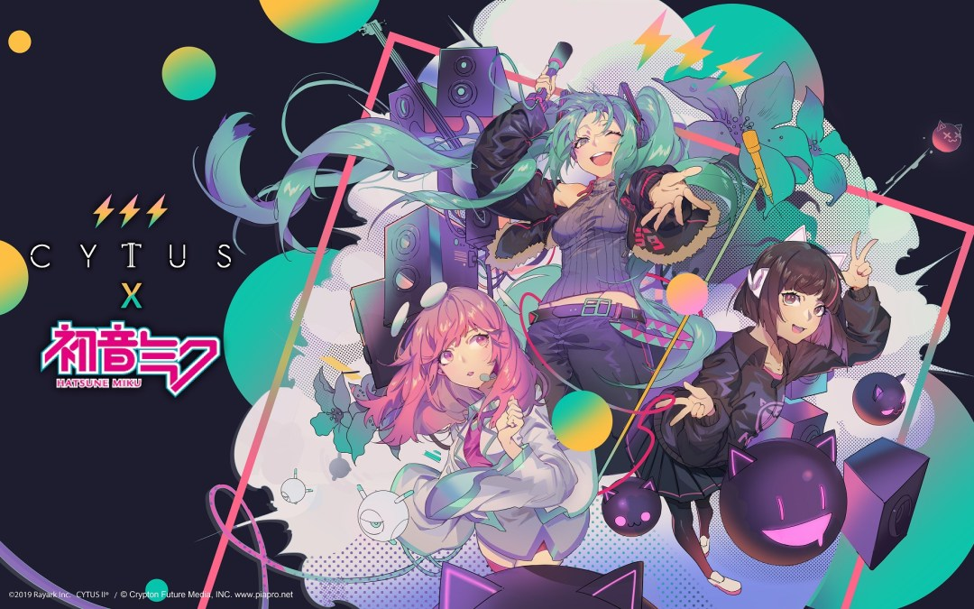 Cytus II collaborates with Hatsune Miku