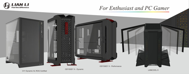 LIAN LI Innovates BIG for Computex 2019