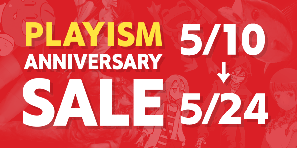 PLAYISM 8th Anniversary Sale