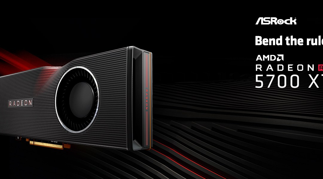ASRock Launches Radeon RX 5700 series Graphics Cards