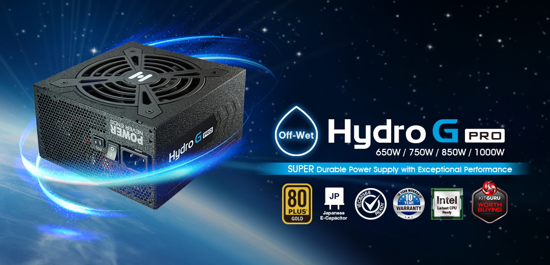 FSP's Hydro G Pro Series Power Supplies with Upgraded Safety, Efficiency and Performance