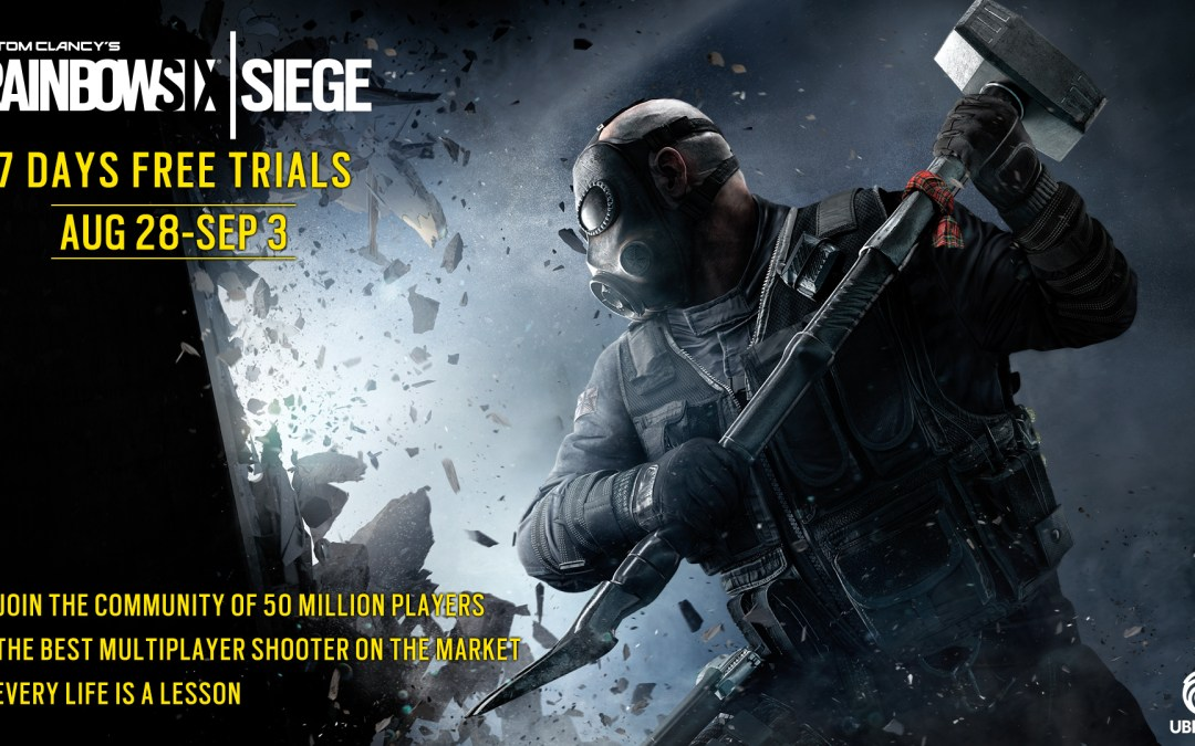 Rainbow Six Siege Gets Another Free Play Week Today