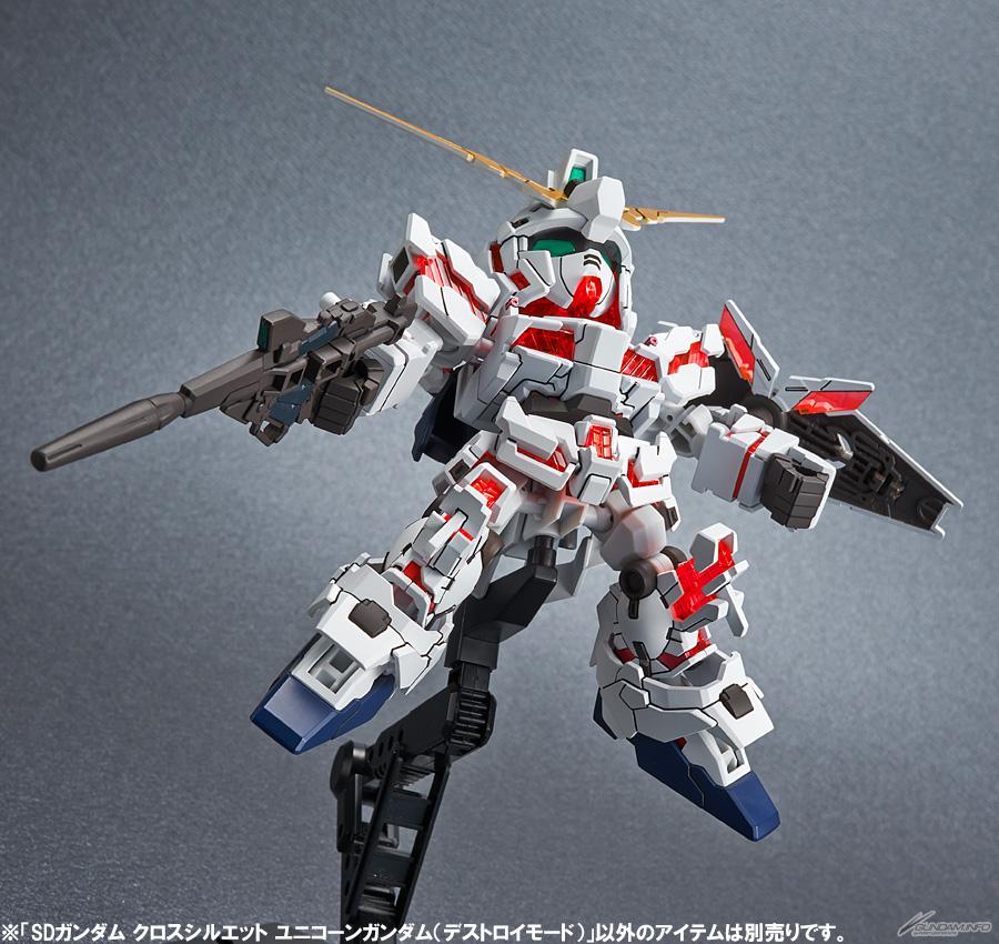 SDCS unicorn gundam destroy mode 4