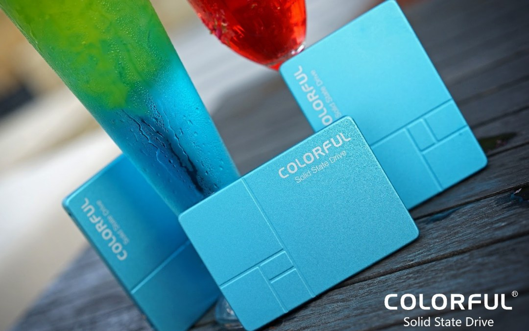 COLORFUL Brings Back Summer Limited Edition SL500 960GB with Glacier Blue Color