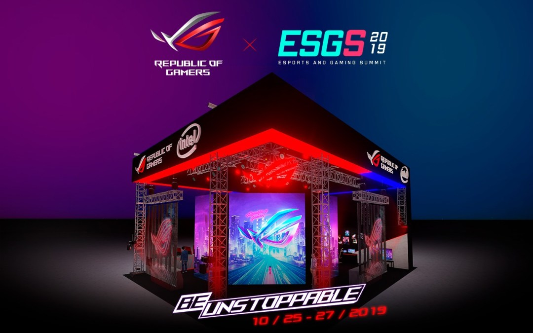 ASUS Republic of Gamers is ready to dominate ESGS 2019