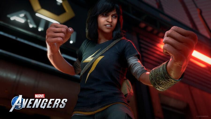 Kamala Khan Joins Marvel's Avengers Superhero Roster