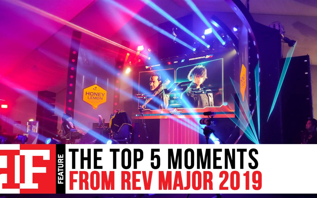 The Top 5 Moments from REV Major 2019