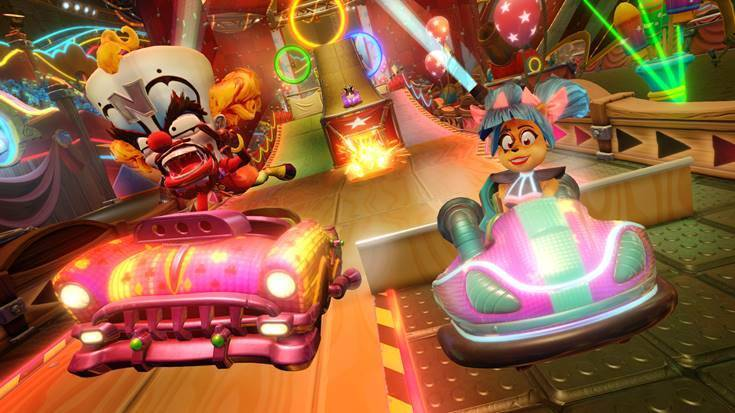 New Grand Prix Neon Circus is Now Available for Crash Team Racing Nitro-Fueled