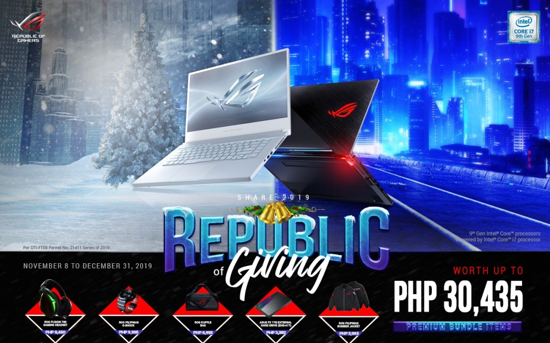 ROG Gives Back to Its Citizens this Holiday Season with Share 2019