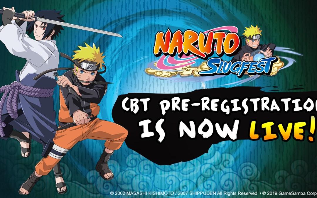 Naruto: Slugfest's CBT Pre-Registration is Now Open