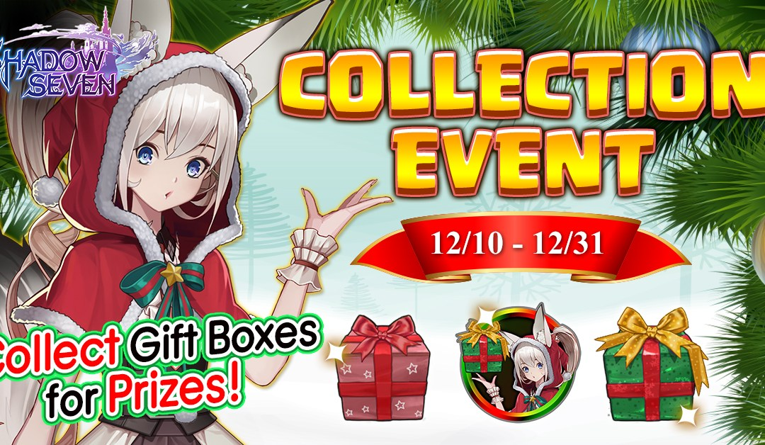 Introducing Shadow Seven's Collection and Exchange Events