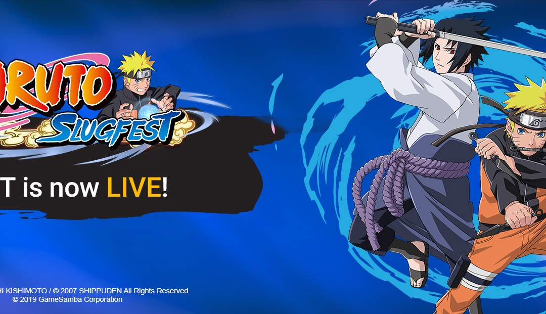 Closed Beta Test for Naruto: Slugfest is Now Live