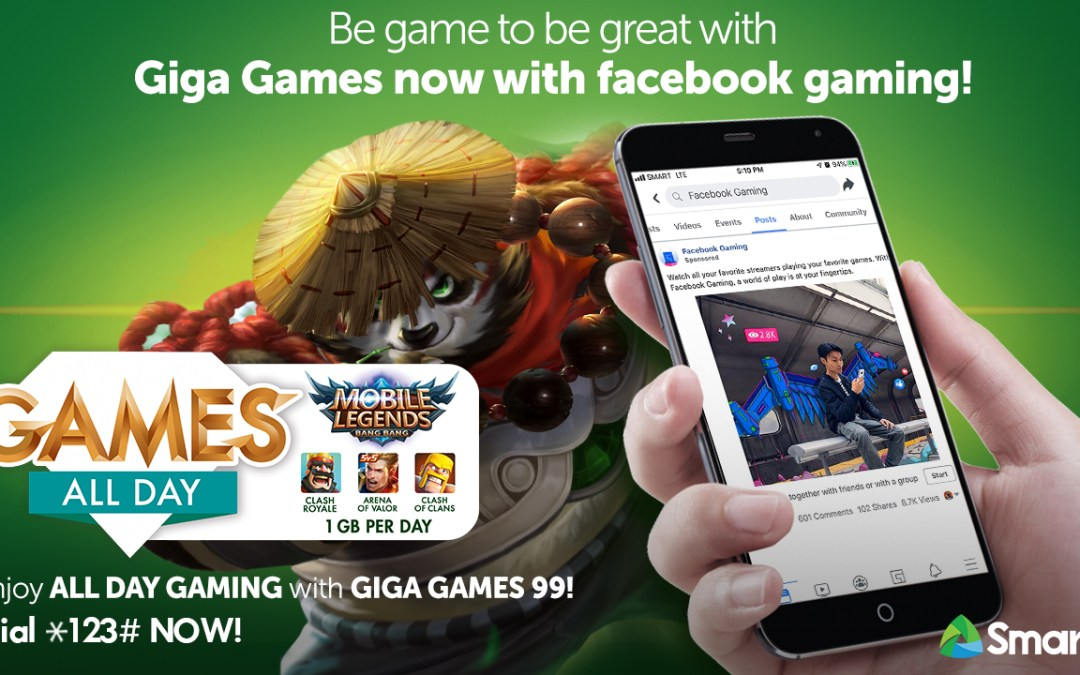 Smart boosts Giga Games with FB Gaming