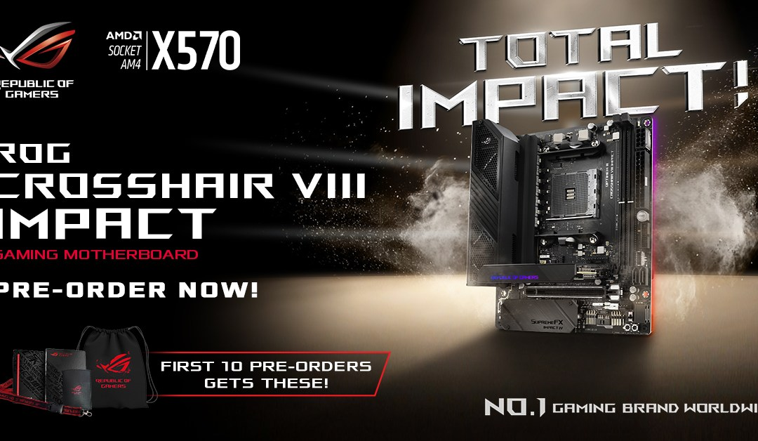 ASUS ROG Crosshair VIII Impact is now available in the Philippines