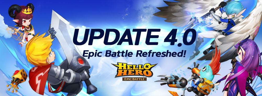 Hello Hero: Epic Battle is Revamped for Update 4.0