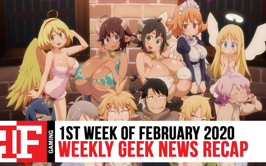 Week in Geek: Week 1 – February 2020