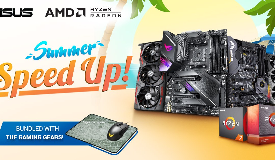 ASUS and AMD team up for the summer with an upgrade bundle promo