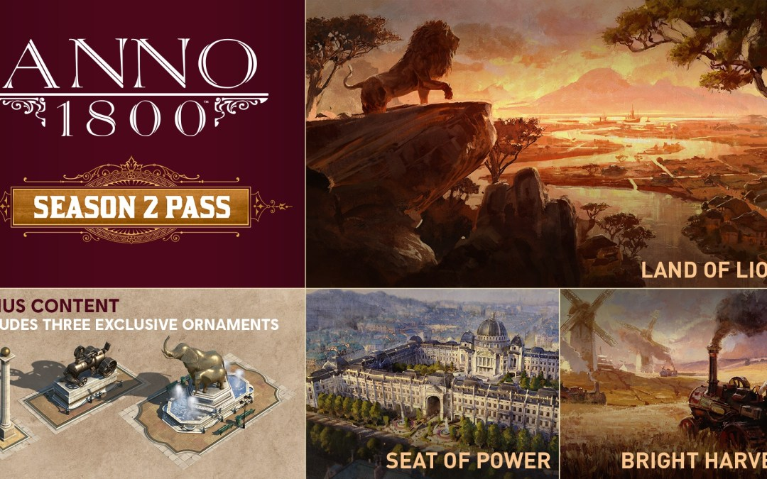 Ubisoft Announces the Season 2 Pass for Anno 1800